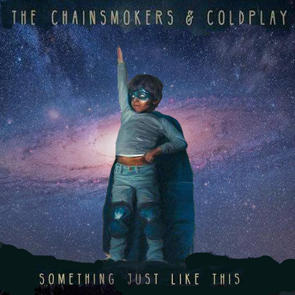 the chainsmokers&coldplay - somethingjustlikethis