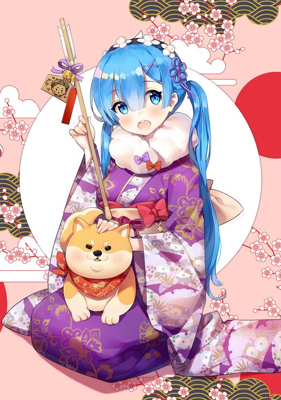 Kết quả hình ảnh cho ảnh anime chúc mừng năm mới