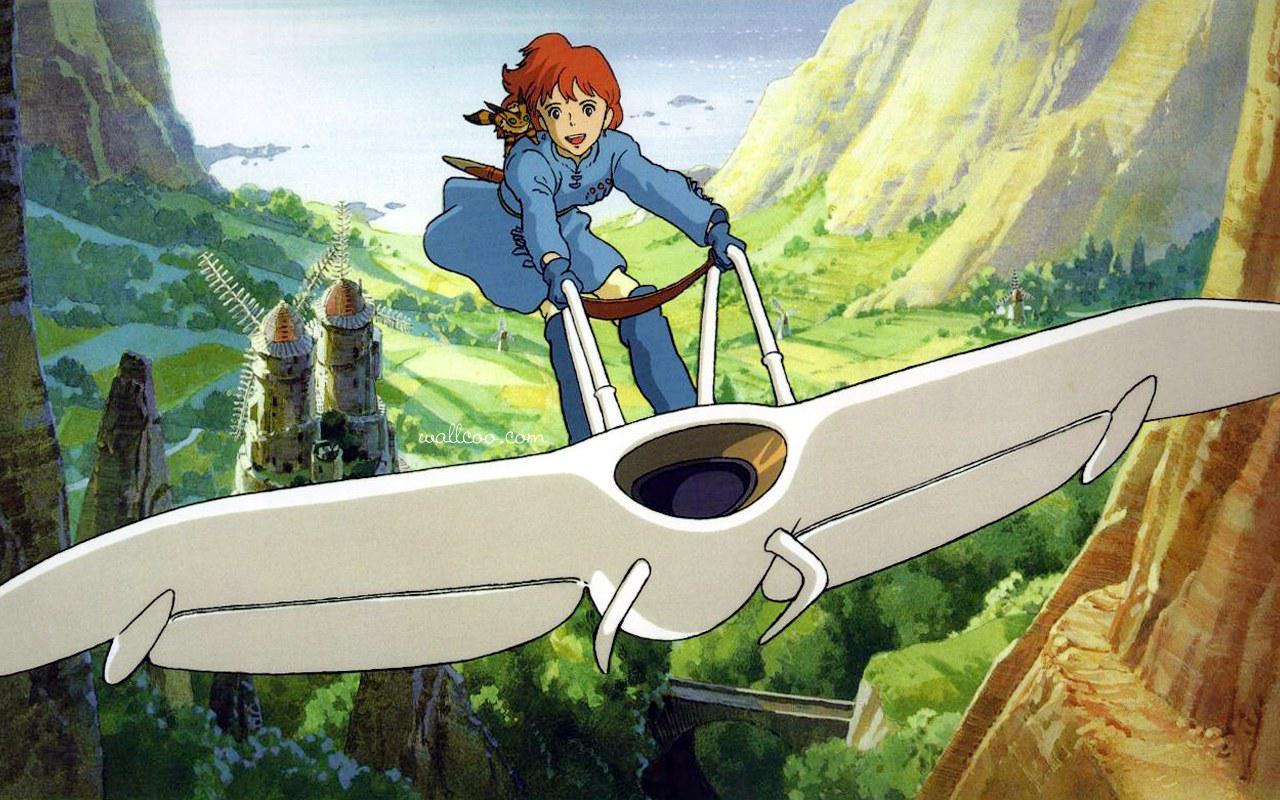 宫崎骏作品 风之谷图片