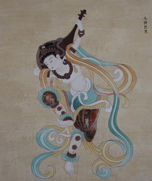 学琵琶古典图片大全