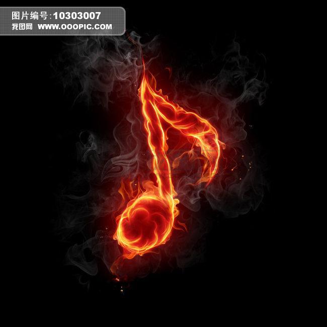 火焰燃烧动态图素材