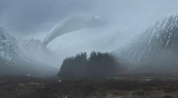 鲸鱼文艺风手绘