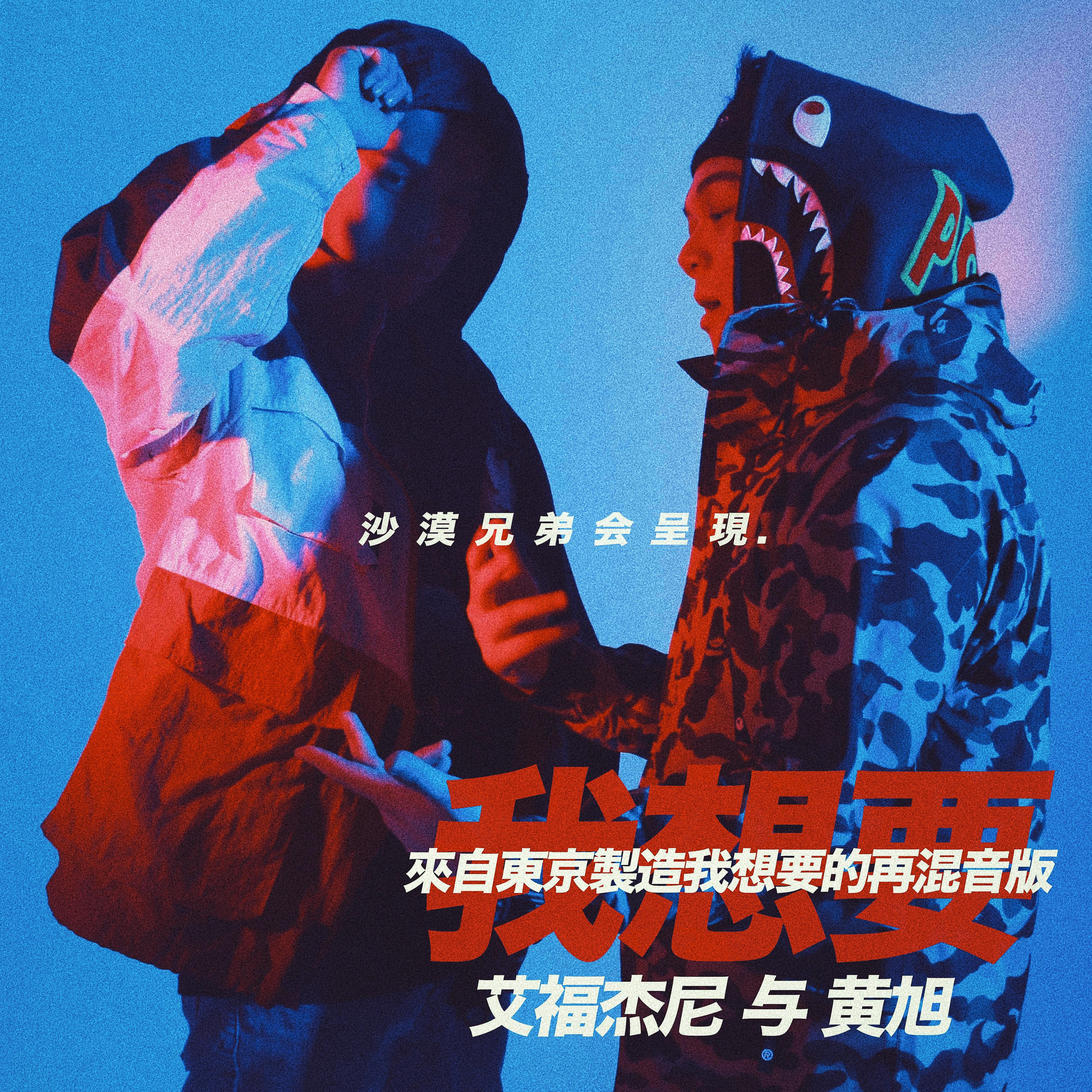 我想要 艾福杰尼Feat. BooM黄旭(I Want Remix )