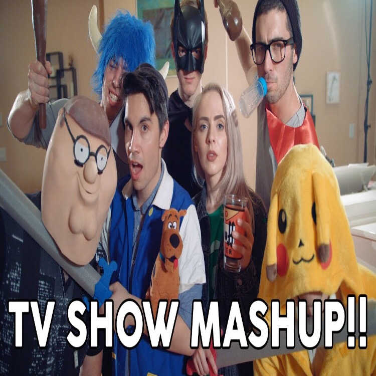 Tv show mashup (20 Songs in 3 Minutes)