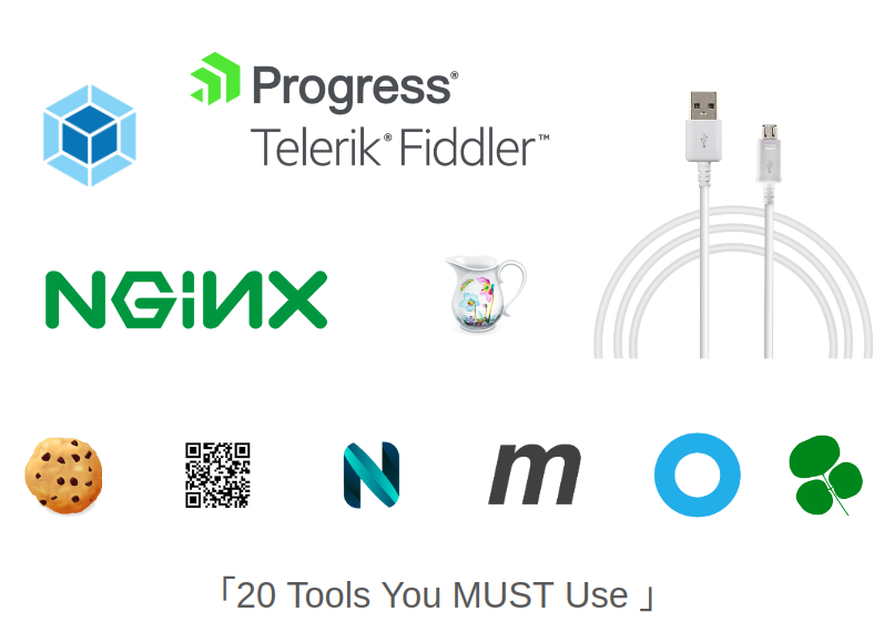 20 Tools You MUST Use