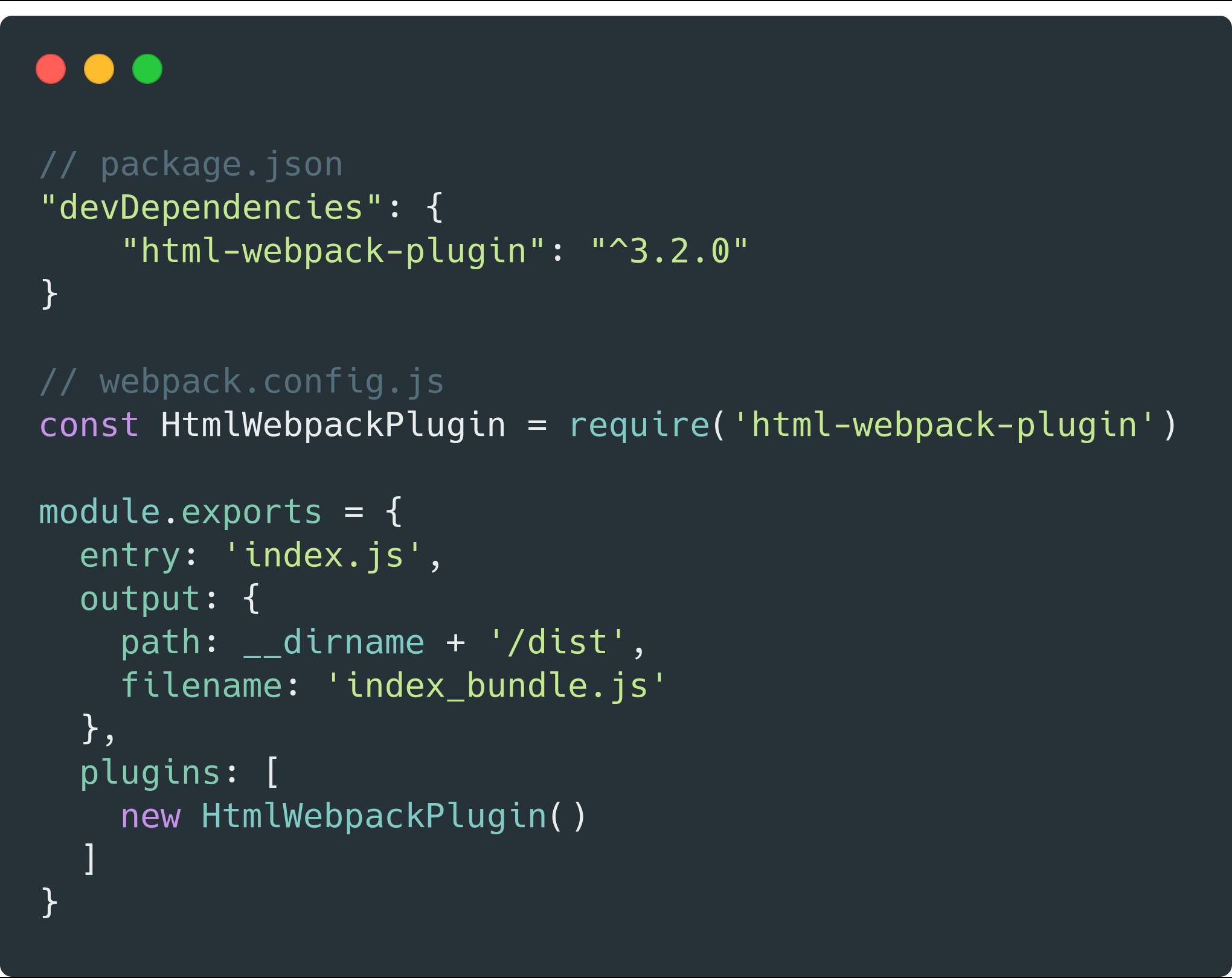 webpack 插件